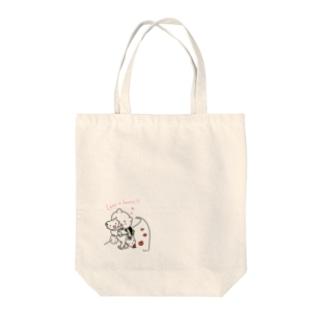 くまの買い物。 Tote Bag
