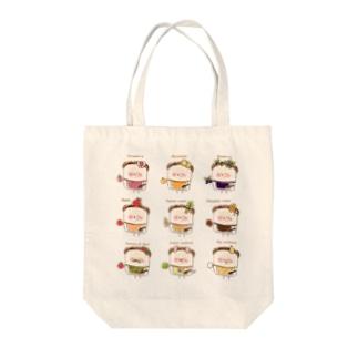 パン9栄神 Tote bags