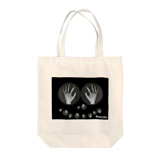 わたしの手 Tote bags