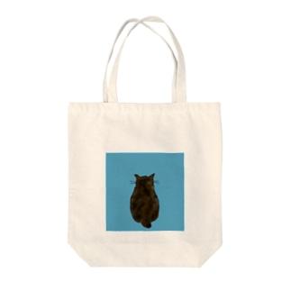 ネコの背中 Tote bags