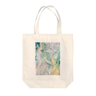 人魚 Tote bags