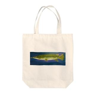 アリゲーターガー Tote bags