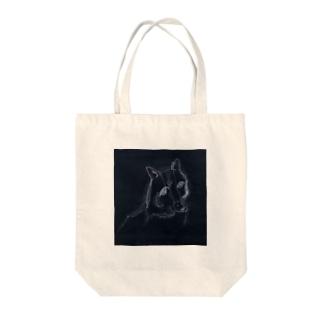 狼 Tote bags