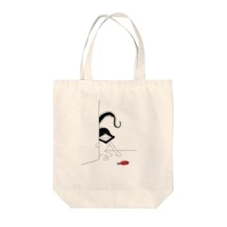 フクロウナギさん(修正版) Tote bags