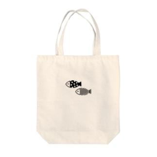 おさかなトートバッグ Tote bags