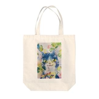 りぼーん Tote bags