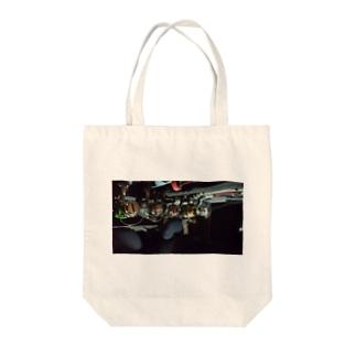 リール Tote bags