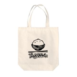 イラストタグロゴ Tote bags