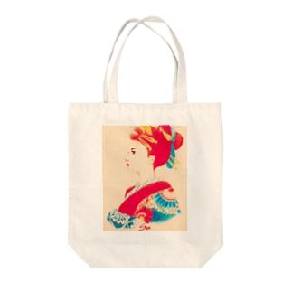 京都島原天神さん* Tote bags