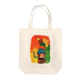 ヘビーアイス Tote bags