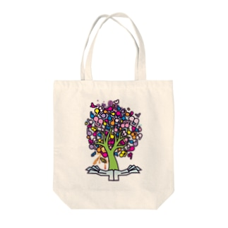 The_Music_Tree Tote bags