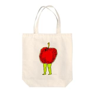 りんごのたたずまい。 Tote bags