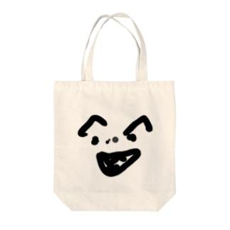 顔みて Tote bags