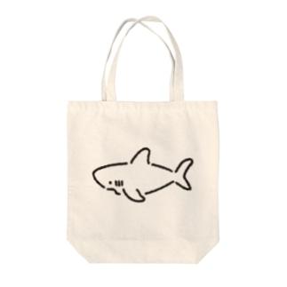 わりとシンプルなサメ2021 Tote bags