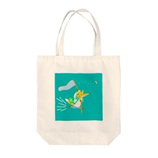 Kitsune 虫 Tote bags