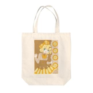 オランジェットちゃん Tote bags