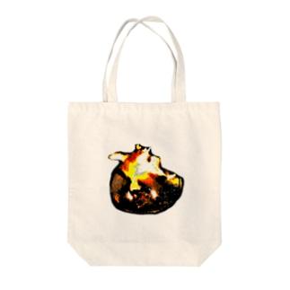たきび Tote bags