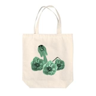 オオカマキリとアネモネ Tote bags