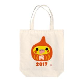 福だるま型 オカメインコ ノーマル Tote bags