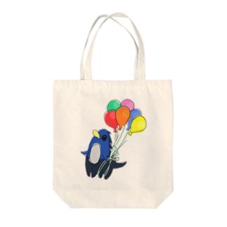 ぷかぷかペンタウルス Tote bags