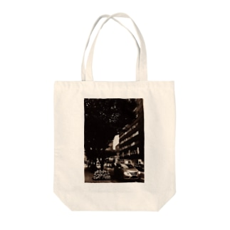 L-cotのtraffic Tote bags
