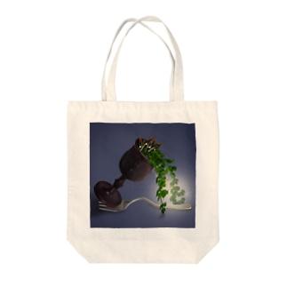 サンカクモチーフ Tote bags
