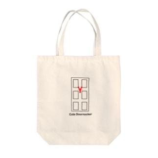 可愛いロブスターのドアノッカー Tote bags