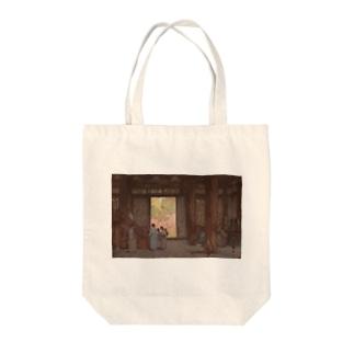 吉田博 昌慶宮 Tote bags