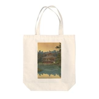 吉田博  金閣 Tote bags