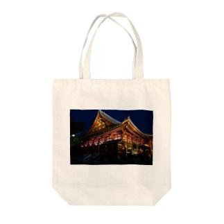 浅草寺 Tote bags