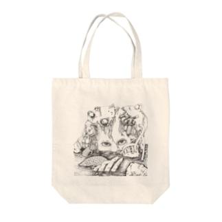 機械少女 Tote bags