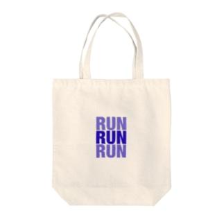 とにかく走れ! Tote bags