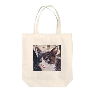 子猫 Tote bags