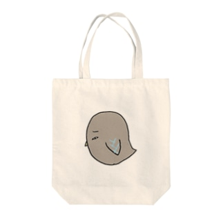 目で語る鳥 Tote bags