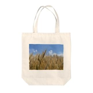 小麦畑 Tote bags