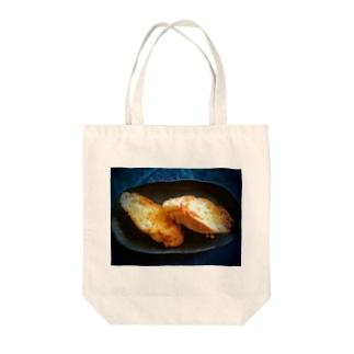 フレンチトースト仲間 Tote bags