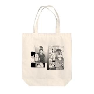 センチュリオン柴犬のマンガ Tote bags