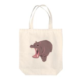 かば Tote bags