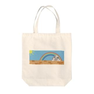 うさぎのひなた Tote bags