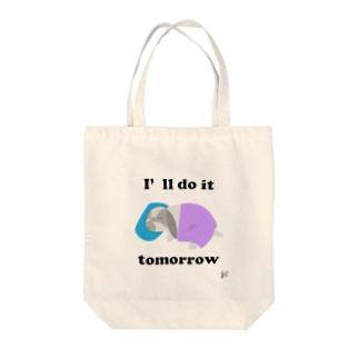 ひなたの明日やる宣言 Tote bags