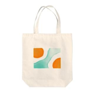 たまごの島 ペタンコ Tote bags