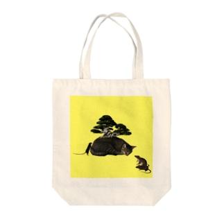 盆栽肩平 Tote bags