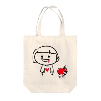 りんご齧ったら歯ぐきから血が出た Tote bags