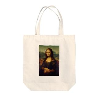 現代風モナリザ Tote bags