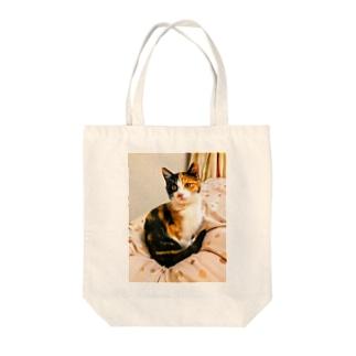 まどろむ猫 Tote bags