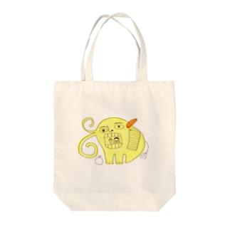 ゾウさん Tote bags