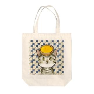 エッグタルト猫 Tote Bag