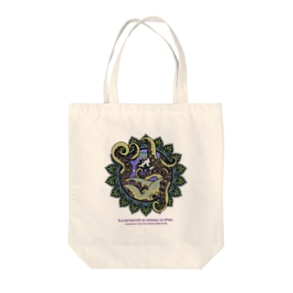 iPad版記念タコ Tote bags