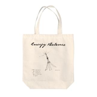 Energy Balance Tote bags