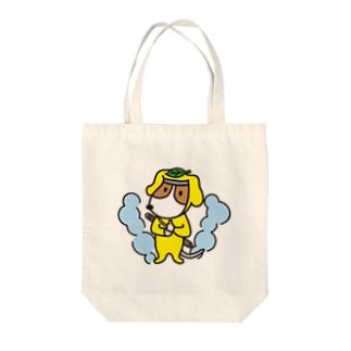 ニンジャモン Tote bags